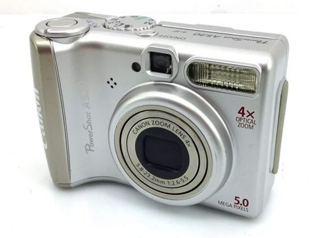 Oferta de Camara digital compacta canon pc1184 por 21,95€