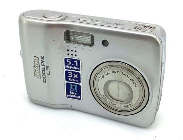 Oferta de Camara digital compacta nikon l3 por 21,95€
