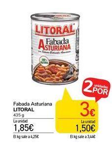 Oferta de Fabada Asturiana Litoral por 1,85€