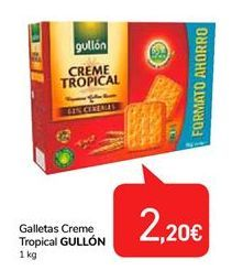 Oferta de Galletas Creme Tropical Gullón por 2,2€