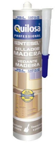 Oferta de Sellador madera Sintesel roble gris oscuro 300ML por 2,39€