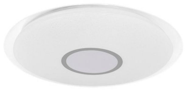 Oferta de Plafón INSPIRE LED Vizzini con altavoz integrado D56cm por 99€