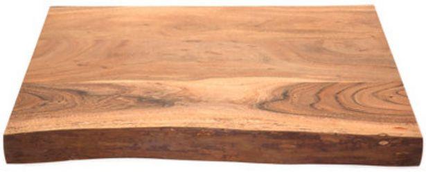 Oferta de Encimera Acacia madera 80x50x6 cm por 335,95€