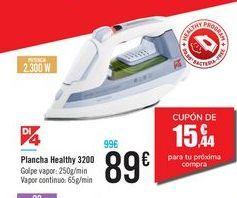 Oferta de Plancha Healthy 3200  por 89€