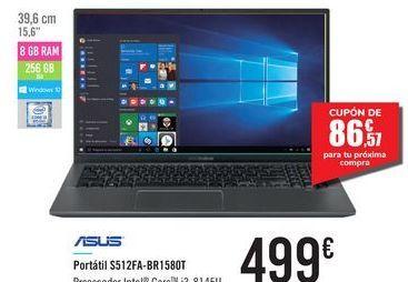 Oferta de Portátil S512FA-BR1580T ASUS por 499€