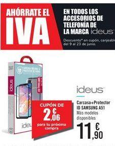 Oferta de Carcasa + Protector ID SAMSUNG A51 ideus por 11,9€