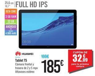 Oferta de Tablet T5 HUAWEI por 185€