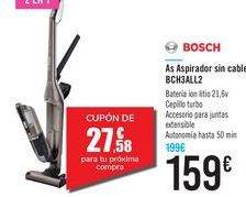 Oferta de As Aspirador sin cable BCH3ALL2 BOSCH por 159€