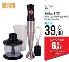 Oferta de Batidora BT177 Jata por 39,9€