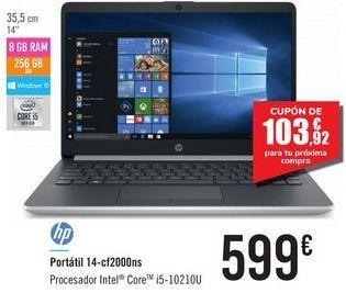 Oferta de Portátil 14-cf2000ns HP por 599€