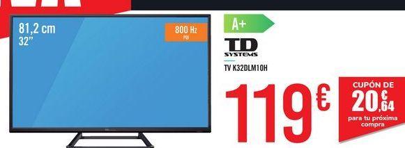 Oferta de TV K32DLX10HS TD SYSTEMS por 119€
