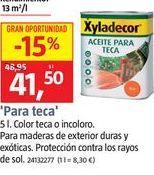 Oferta de Productos para la madera Xyladecor por 41,5€