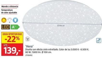 Oferta de Plafones por 139€