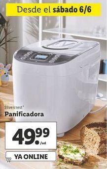 Oferta de Panificadora SilverCrest por 49,99€