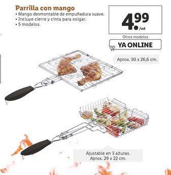 Oferta de Parrilla con mango por 4,99€
