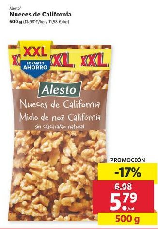 Oferta de Nueces de California por 5,79€