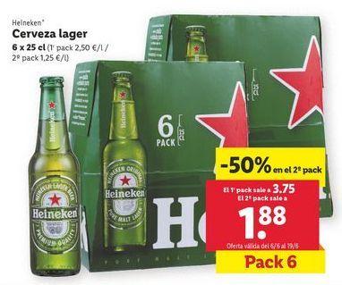 Oferta de Cerveza lager por 3,75€