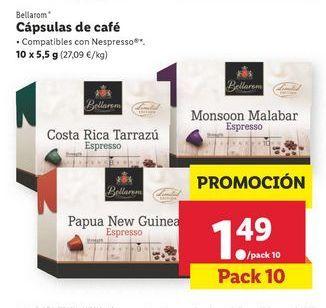 Oferta de Capsulas de café por 1,49€