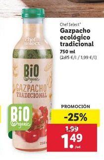 Oferta de Gazpacho ecológico tradicional por 1,49€