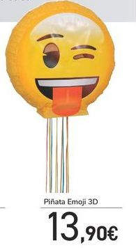Oferta de Piñata emoji 3D por 13,9€
