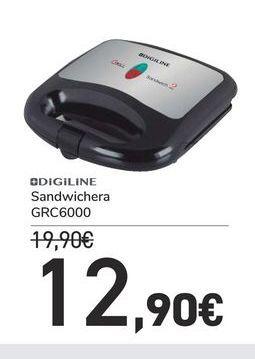 Oferta de Sandwichera GRC6000 por 12,9€