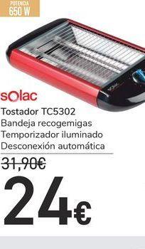 Oferta de Tostadora Solac por 24€