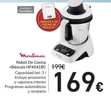 Oferta de Robot de cocina Moulinex por 169€