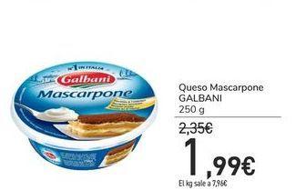 Oferta de Queso Mascarpone GALBANI por 1,99€