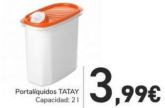 Oferta de Portalíquidos TATAY por 3,99€
