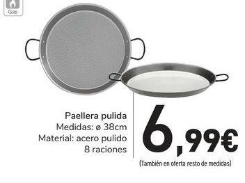 Oferta de Paellera pulida por 6,99€