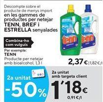 Oferta de Limpiadores Tenn por 2,37€