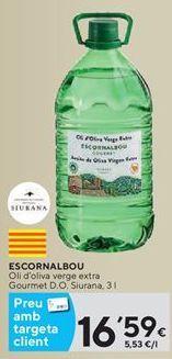 Oferta de Aceite de oliva virgen extra  por 16,59€