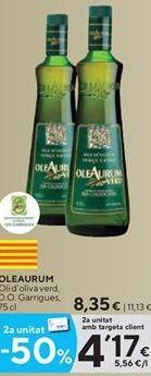 Oferta de Aceite de oliva Oleaurum por 8,35€