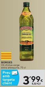 Oferta de Aceite de oliva virgen extra Borges por 3,99€