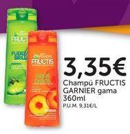 Oferta de Champú Fructis por 3,35€