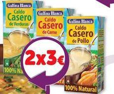 Oferta de Caldo casero Gallina Blanca por 1,59€