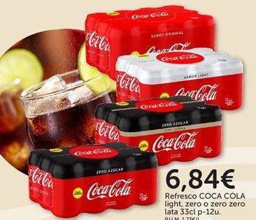 Oferta de Coca-Cola por 6,84€
