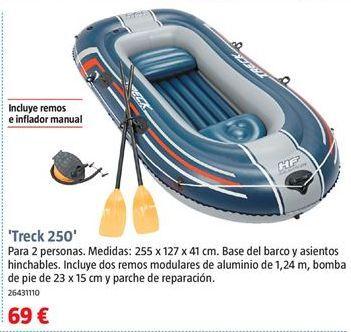 Oferta de Barca hinchable por 69€