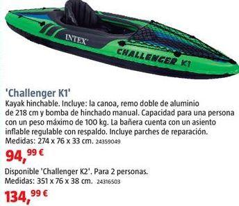 Oferta de Kayak por 94,99€