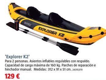 Oferta de Kayak por 129€