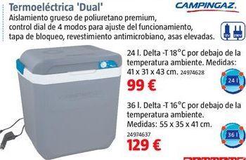 Oferta de Nevera termoeléctrica campingaz por 99€