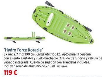 Oferta de Kayak por 119€