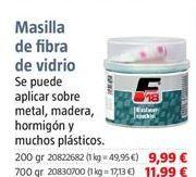 Oferta de Masilla por 9,99€