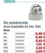 Oferta de Tuercas por 0,4€