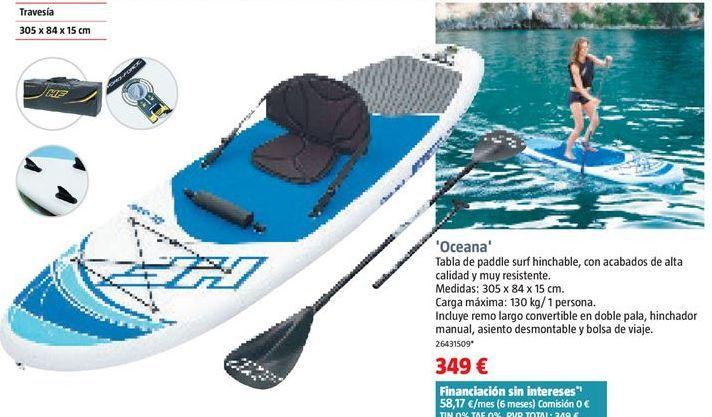 Oferta de Tabla de surf por 349€