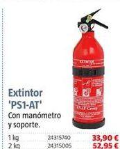 Oferta de Extintor de coche por 33,9€