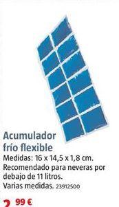 Oferta de Acumuladores de frío por 2,99€