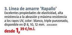 Oferta de Amarre de seguridad por 1,39€