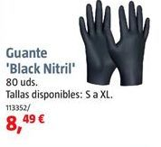 Oferta de Guantes de nitrilo por 8,49€
