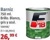 Oferta de Barniz por 26,99€